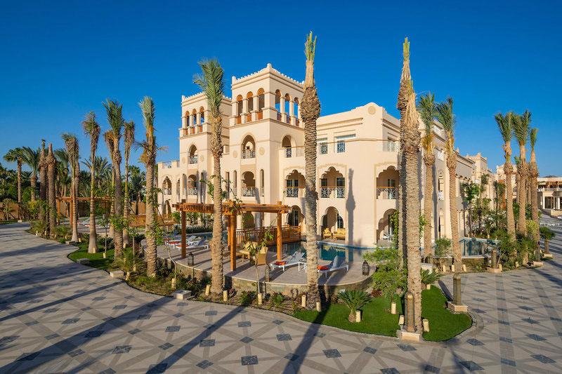 Das neue Grand Palace in Hurghada findet sich unweit des Roten Meeres