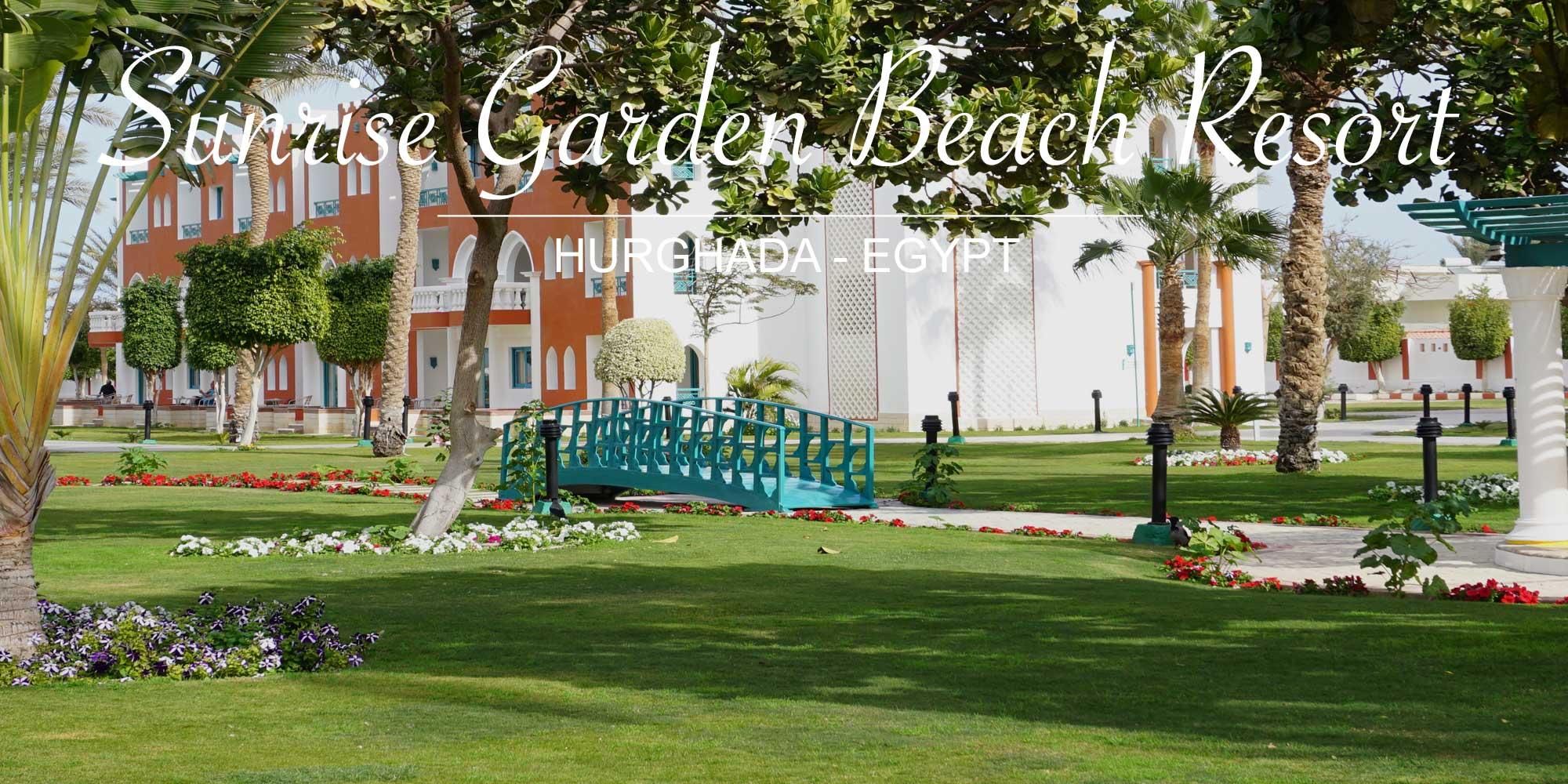 Sunrise Garden Beach Resort Hurghada Agypten Reesorts Com